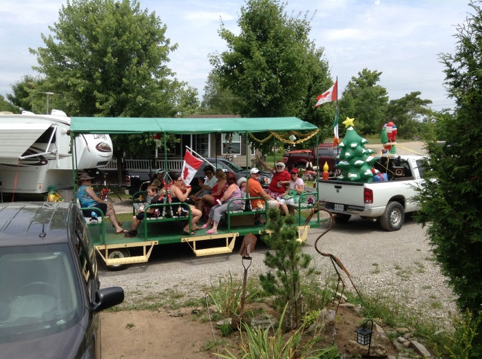 Christmas in July - Hay Ride