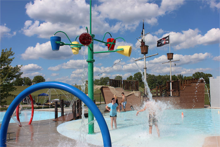 Amenities Splash Pad Picnic Pavilion Heated Pool Rental Cottages Trailers And Many More