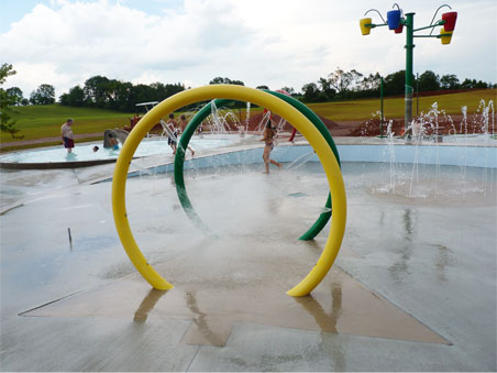 Splash Pad - In Progress