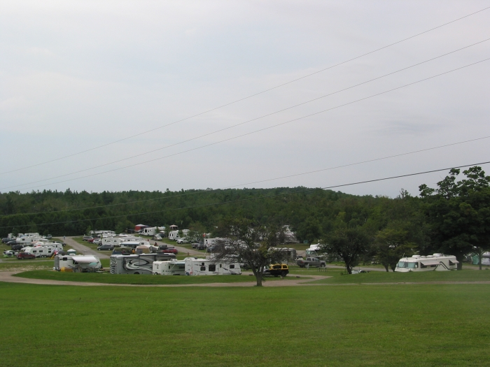 Camping Sites 100 - Top of hill view