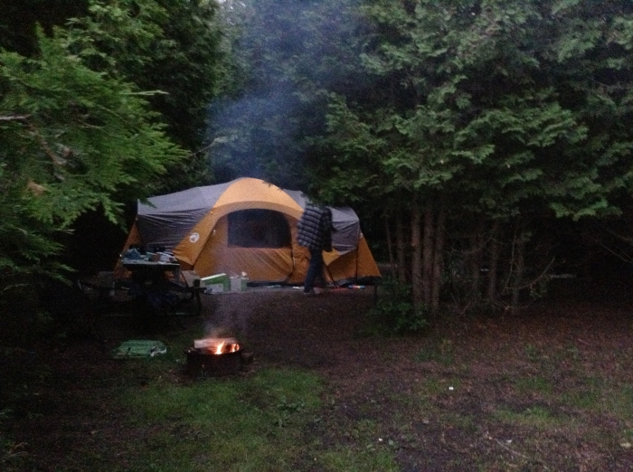 Tenting Site - A38