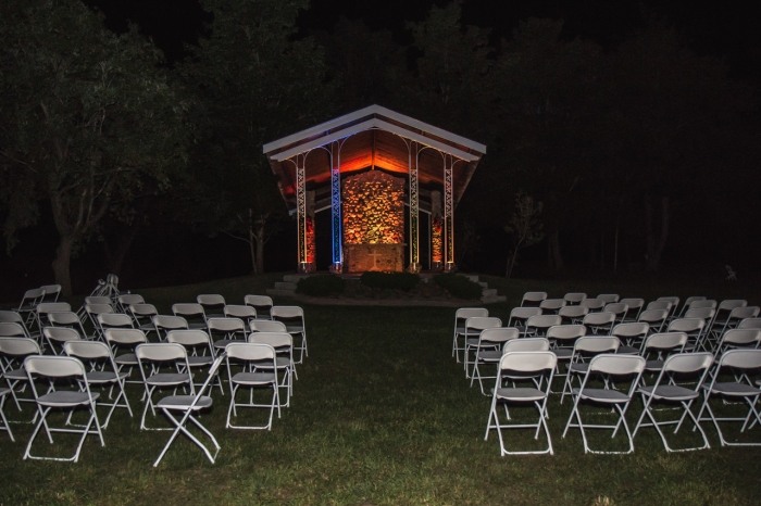 Wedding Chapel lights 2
