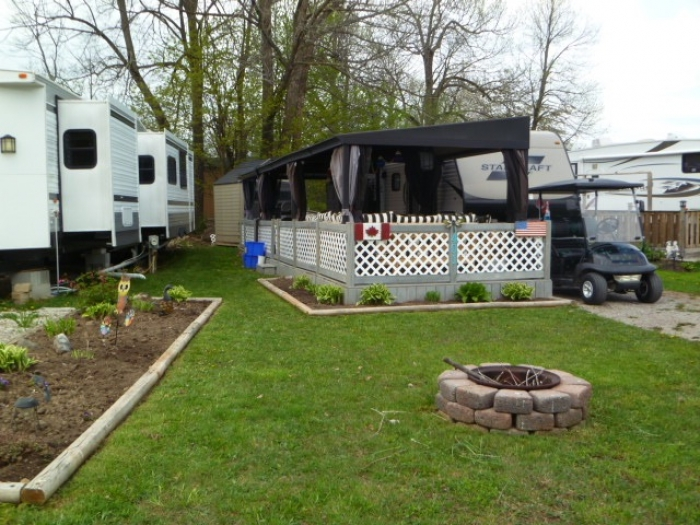 Trailers For Sale  Sun Rooms and Decks | Ontario, Canada Campground