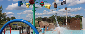 Splash Pad, Wading Pool and Pirate Ship