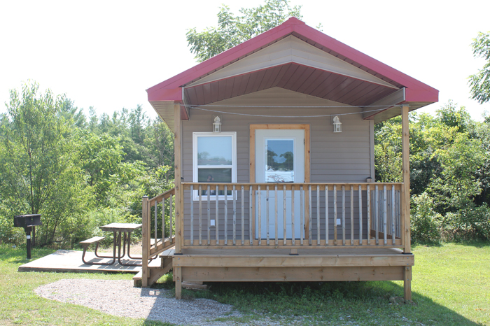 Large Cottager Rental Unit - Front View
