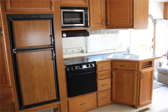 Trailer Rental Unit - Kitchen