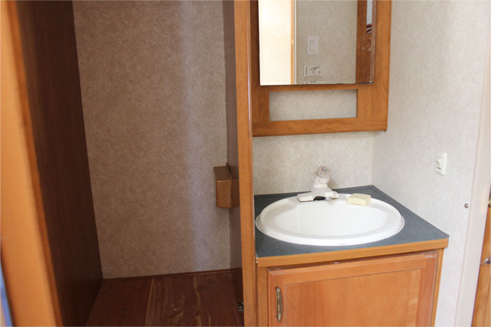 Trailer Rental Unit - Bathroom Sink