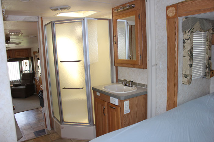 Trailer Rental Unit - Bathroom